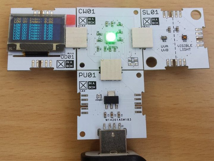 Xinabox xCHIPS ESP8266 UV Index Monitor