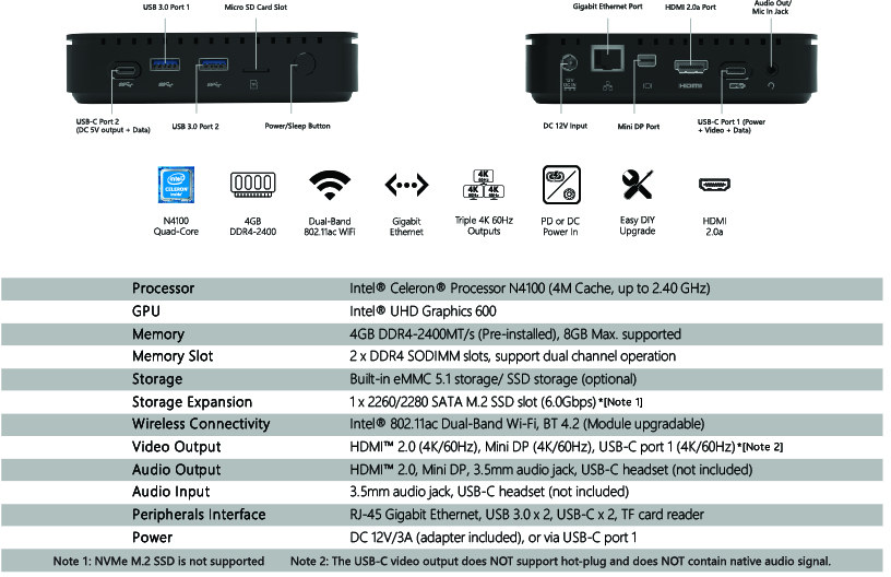 glk-uc2x specifications
