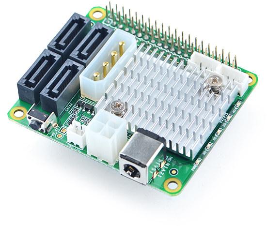 4x SATA HAT NanoPi M4