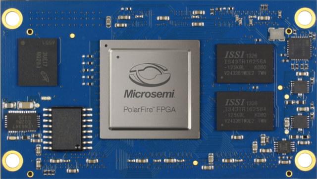ARIES M100PF RISC-V FPGA SoM