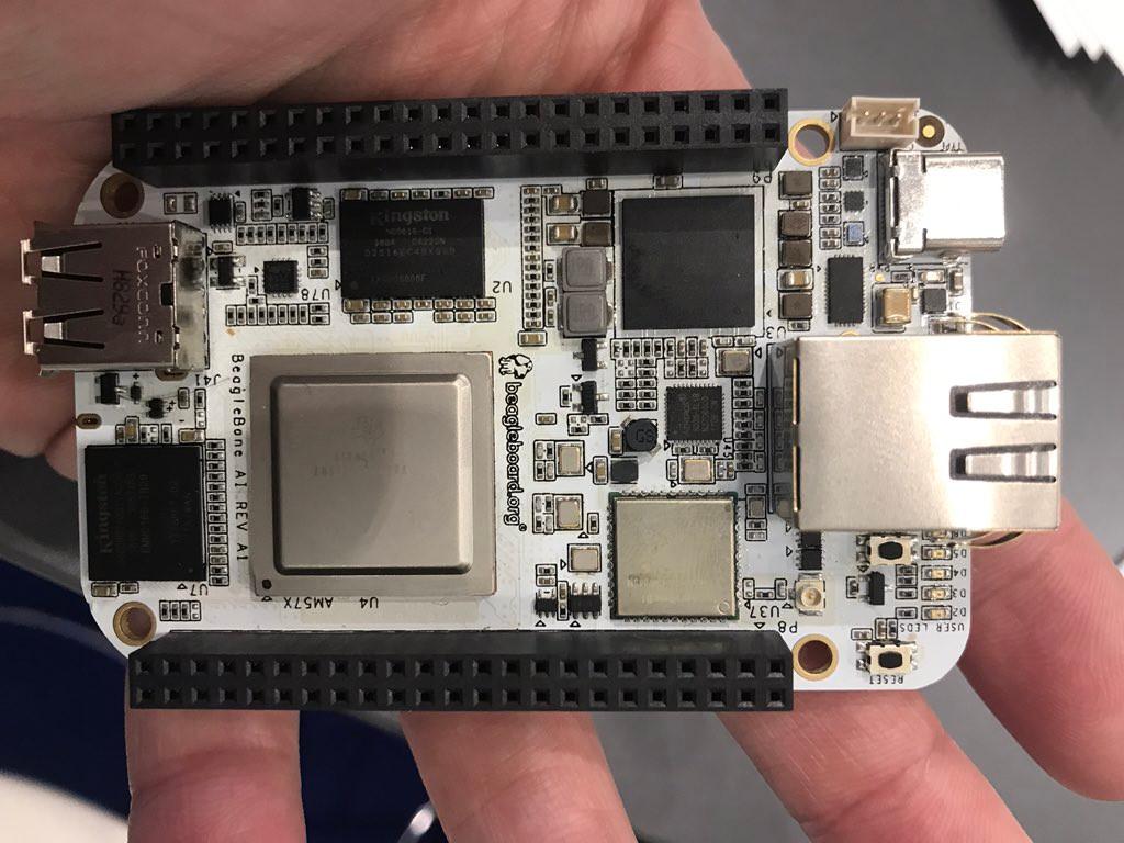 Ti Am5729 Powered Beaglebone Ai Comes With Ti C66x Dsp And