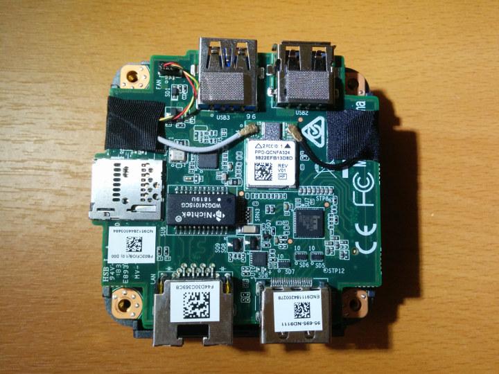ECS LIVA Q2 motherboard