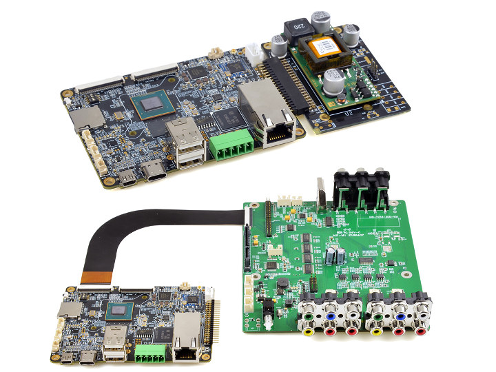 EMB-2238 PoE & AV Board