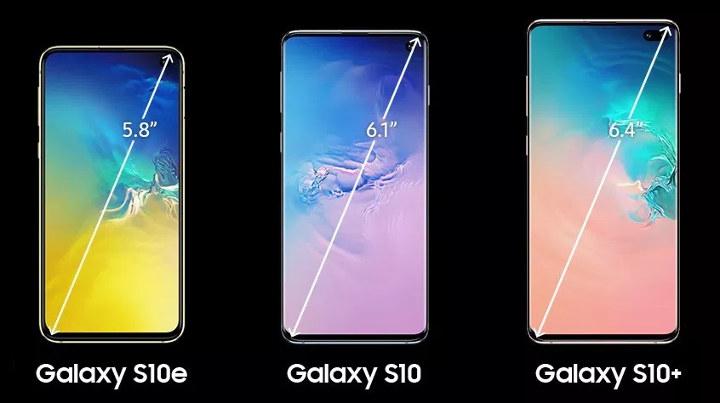 Galaxy S10e S10 S10+