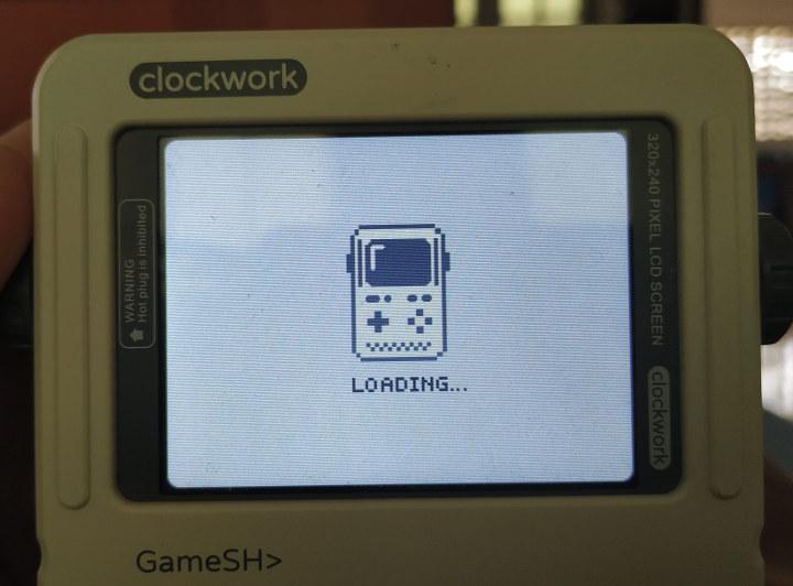 Gameshell Firmware Loading