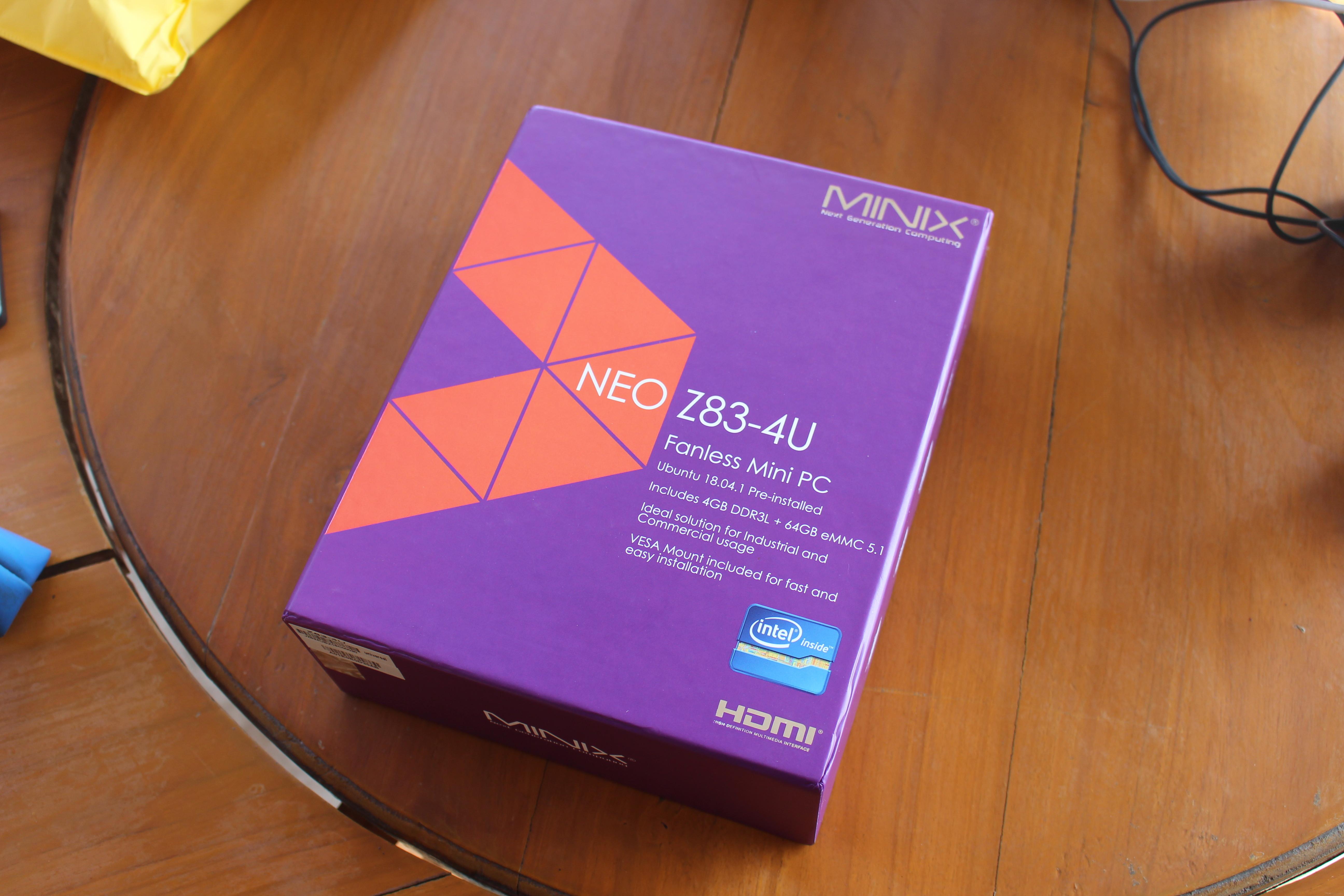 MINIX NEO Z83-4U Review - Part 1: Unboxing and Teardown