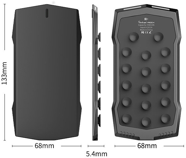 Muja Touch gamepad smartphone