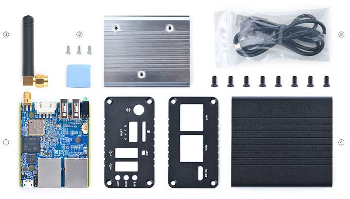 NanoPi R1 Kit