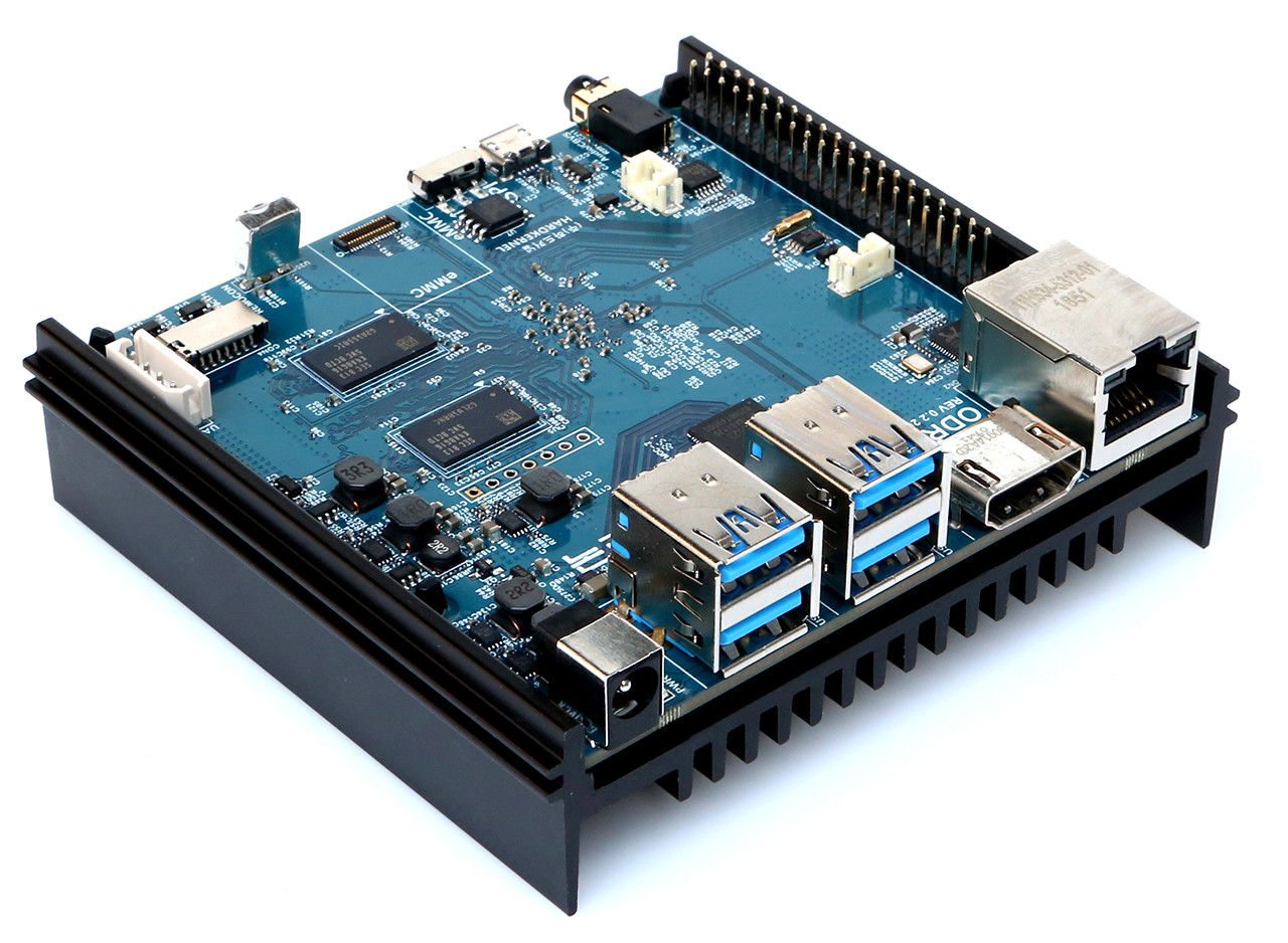 ODROID-N2 Amlogic S922X SBC Coming in April for $63 and Up