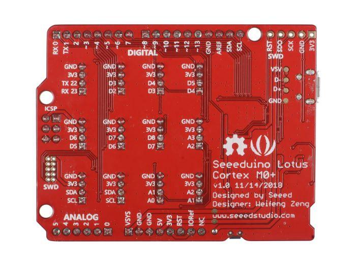 Seeeduino Lotus Cortex M0+
