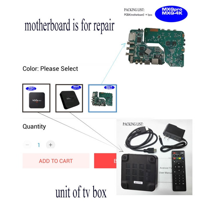 TV Box PCBA Motherboard for Repair