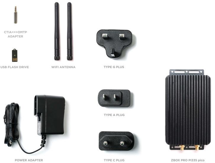 ZBOX PRO CI335 nano accessories