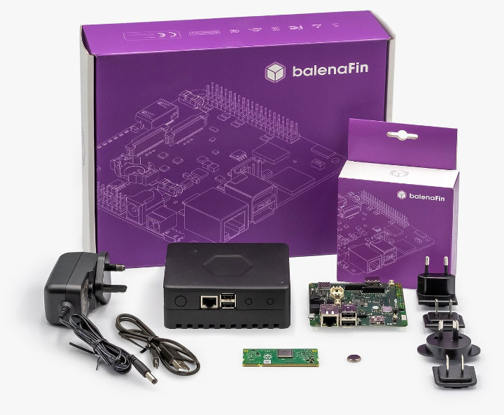 balenaFin 1.1 developer kit