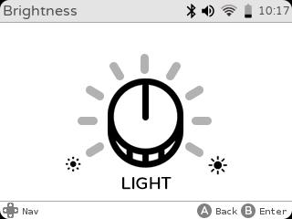 gameshell-brightness-settings