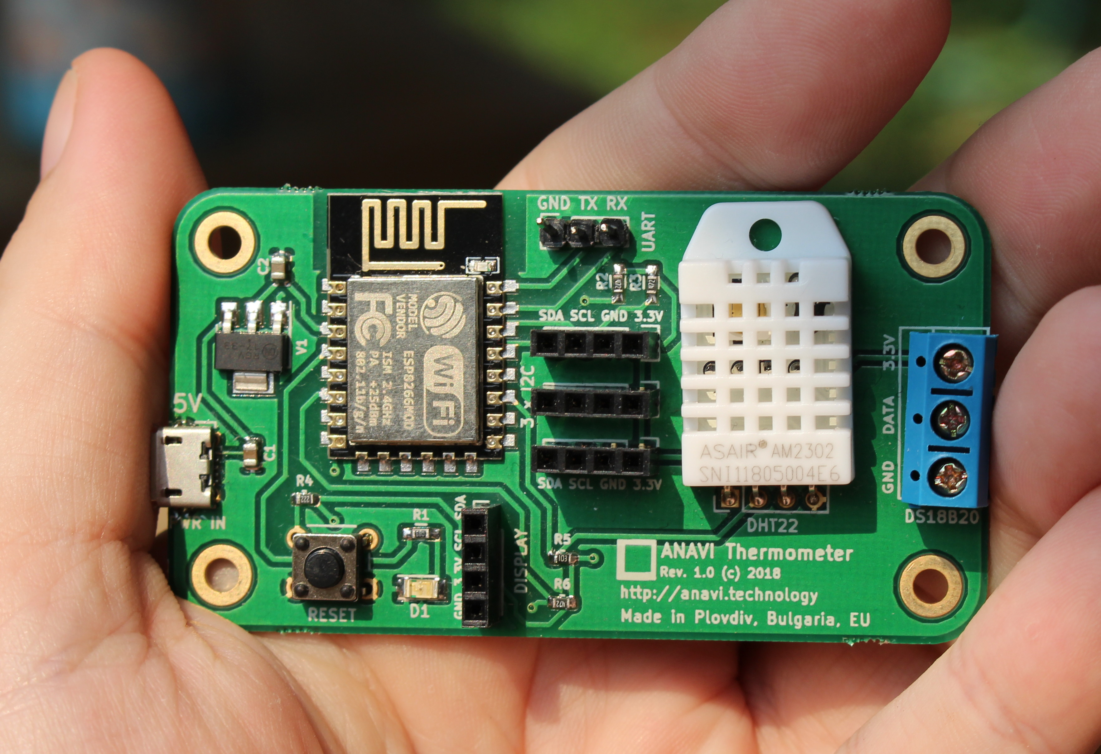 Getting Started with Temperature & Humidity Sensors on