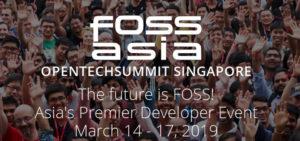 FOSSASIA 2019 Schedule