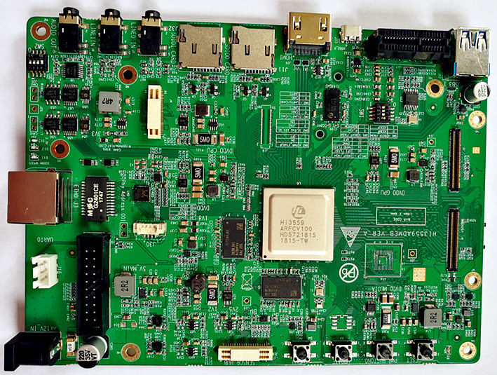 HiSilicon Hi3559A Board Enables Smart 8K Camera Development
