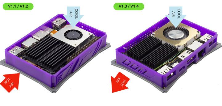 Khadas VIM2 Thermal Design