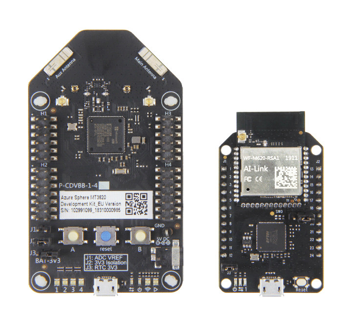 MT3620 dev board vs MT3620 mini dev board
