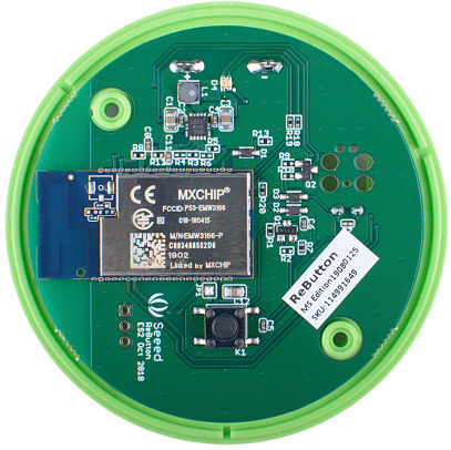 MXCHIP EMW3166 WiFi Button