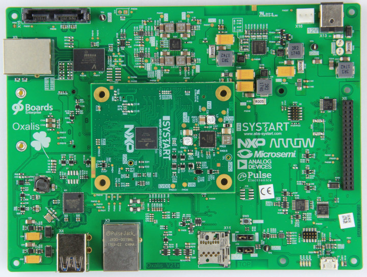 Oxalis 96Boards Enterprise Edition