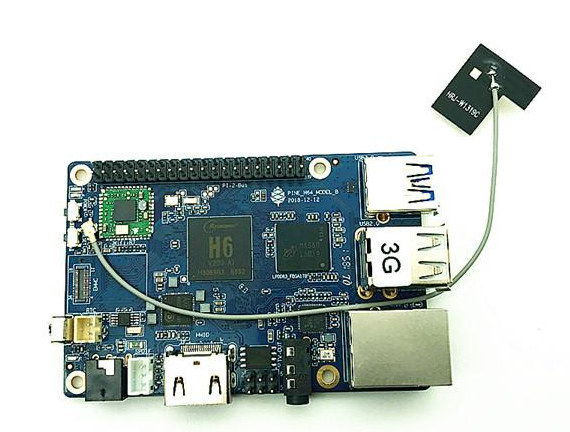Pine H64-B Raspberry Pi Form Factor