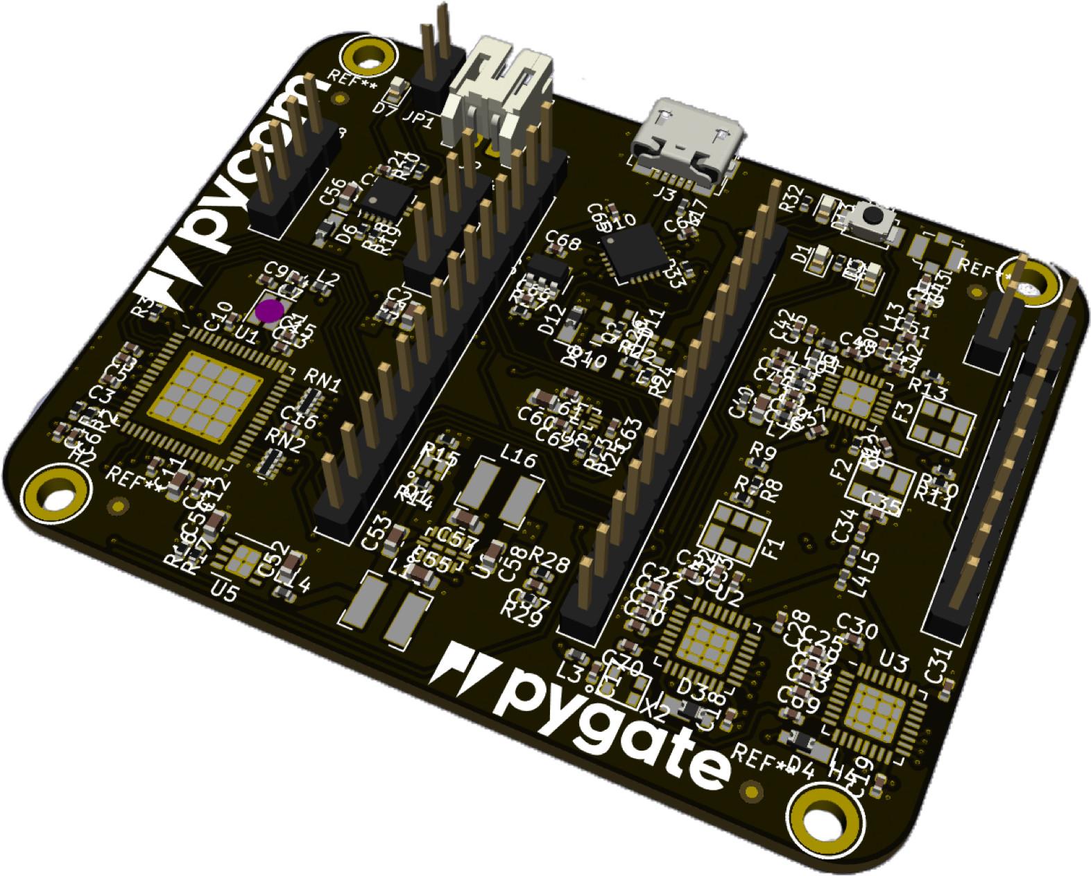 Pycom Pygate is a 50 Euros 8-channel LoRa Gateway Board