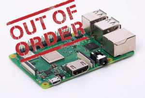 Raspberry Pi Out of Order