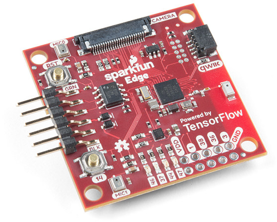 Sparkfun Edge Tensorflow MCU Board