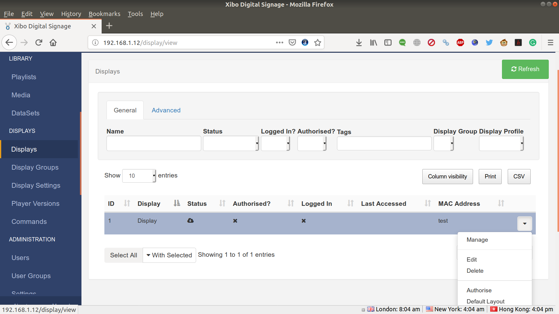MINIX NEO Z83-4U Review - Ubuntu 18 04, Kodi 18, and Xibo