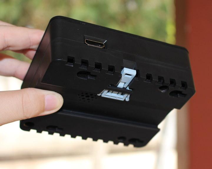 balenaFin HDMI DIN Rail