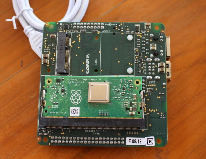 balenaFin install RPi Compute Module
