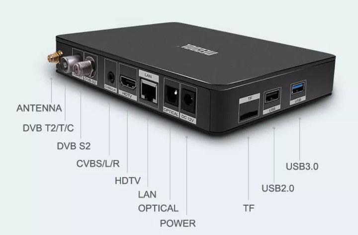 DVB-T2 DVB-S2 Hisilicon Hi3798M