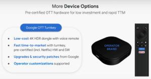 Google OTT Turnkey