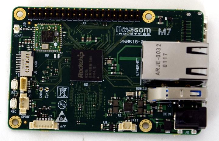 Novasom M7 Raspberry Pi Rockchip RK3328