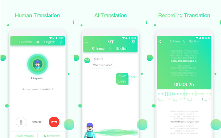 One Mini Translation App