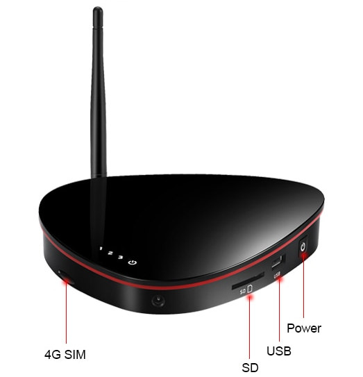 T96G 4G LTE TV box
