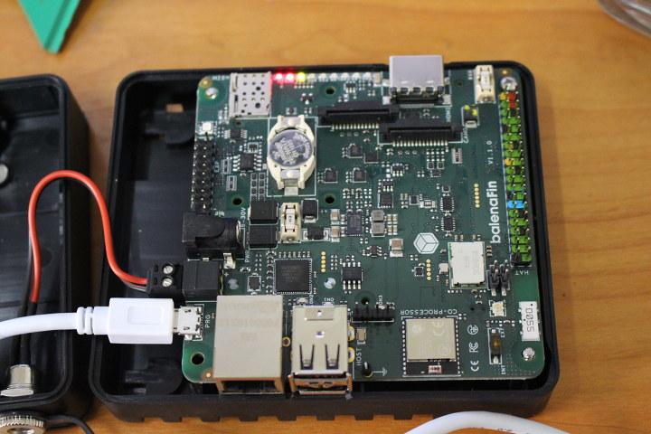balenaFIN USB programming