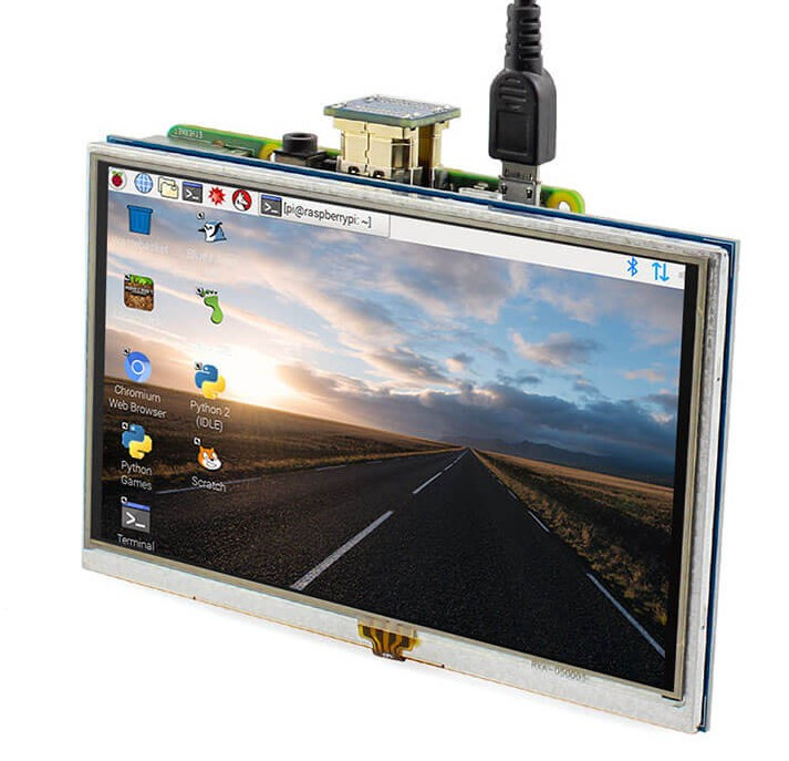 5-inch HDMI Display Backlight Control