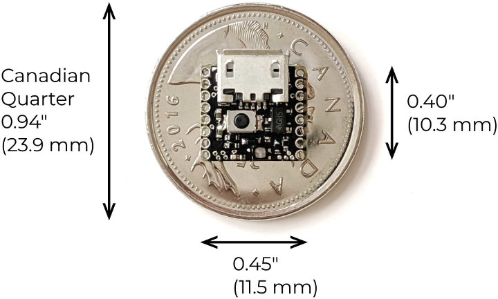 ATTO Smallest Arduino Board