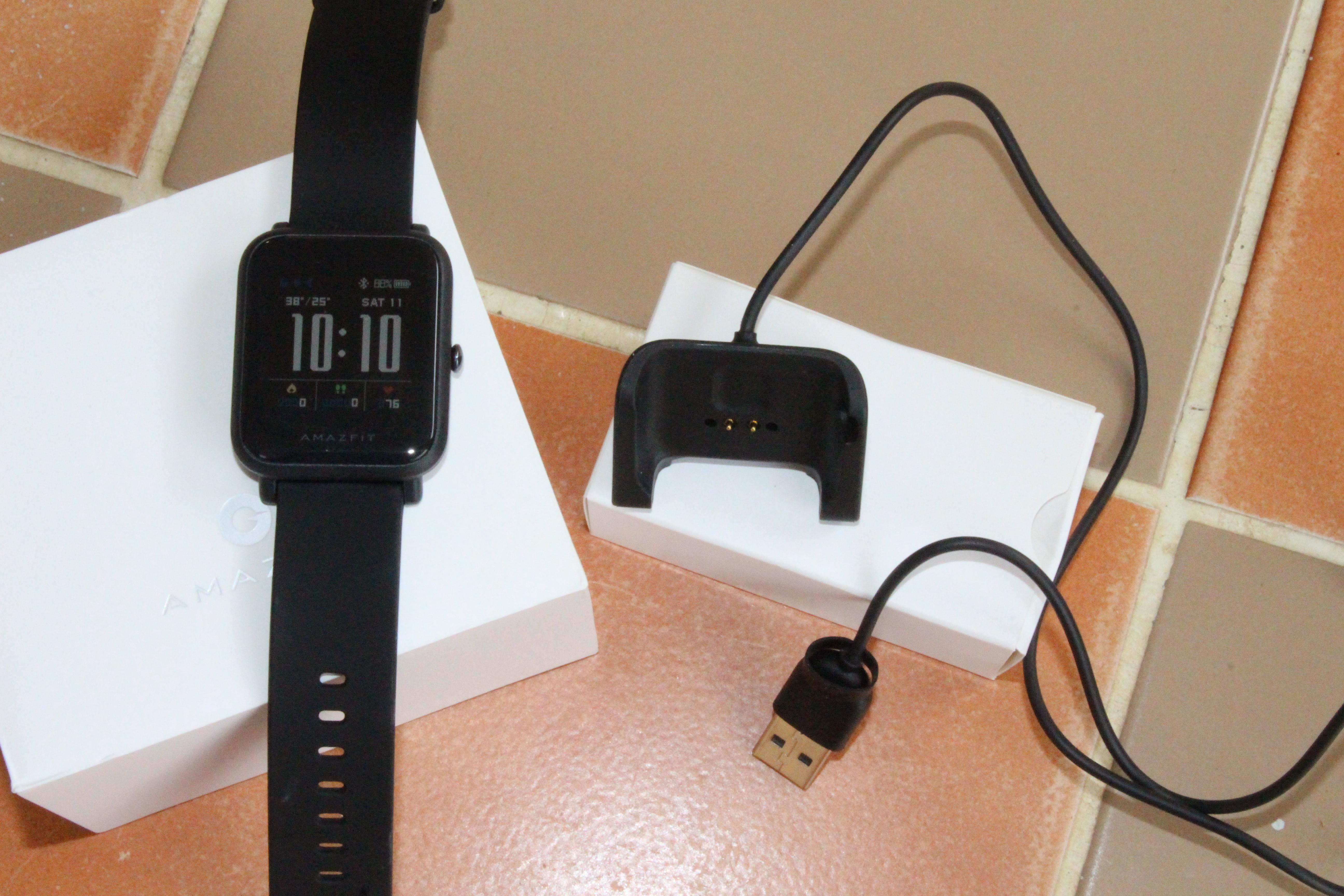 Customize Amazfit Bip Smartwatch - Thai Language and Mickey Mouse