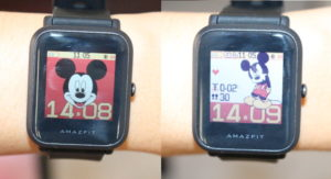 Amazfit Bip Watch Face Mickey Mouse