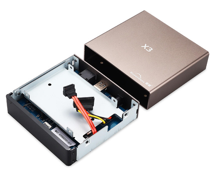 Blueendless X3 2.5-inch HDD enclosure