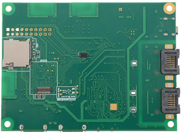 Komikan eMMC module socket
