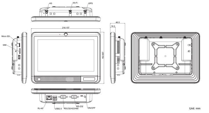 Rockchip PX30 panel PC