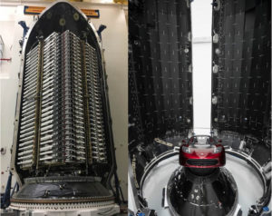 SpaceX Starlink Satellites Falcon Rocket