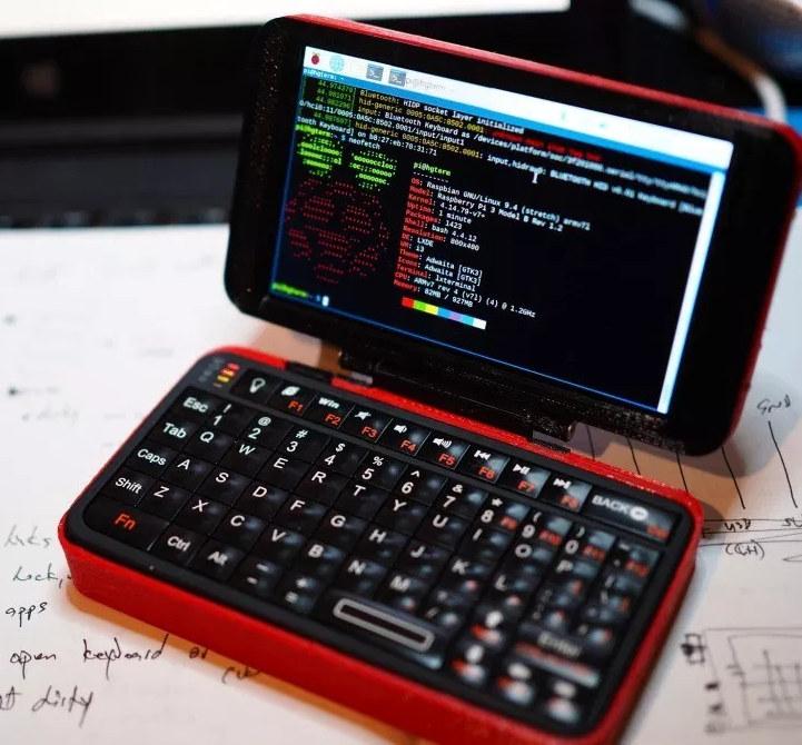 hgterm DIY Raspberry Pi Handheld Computer