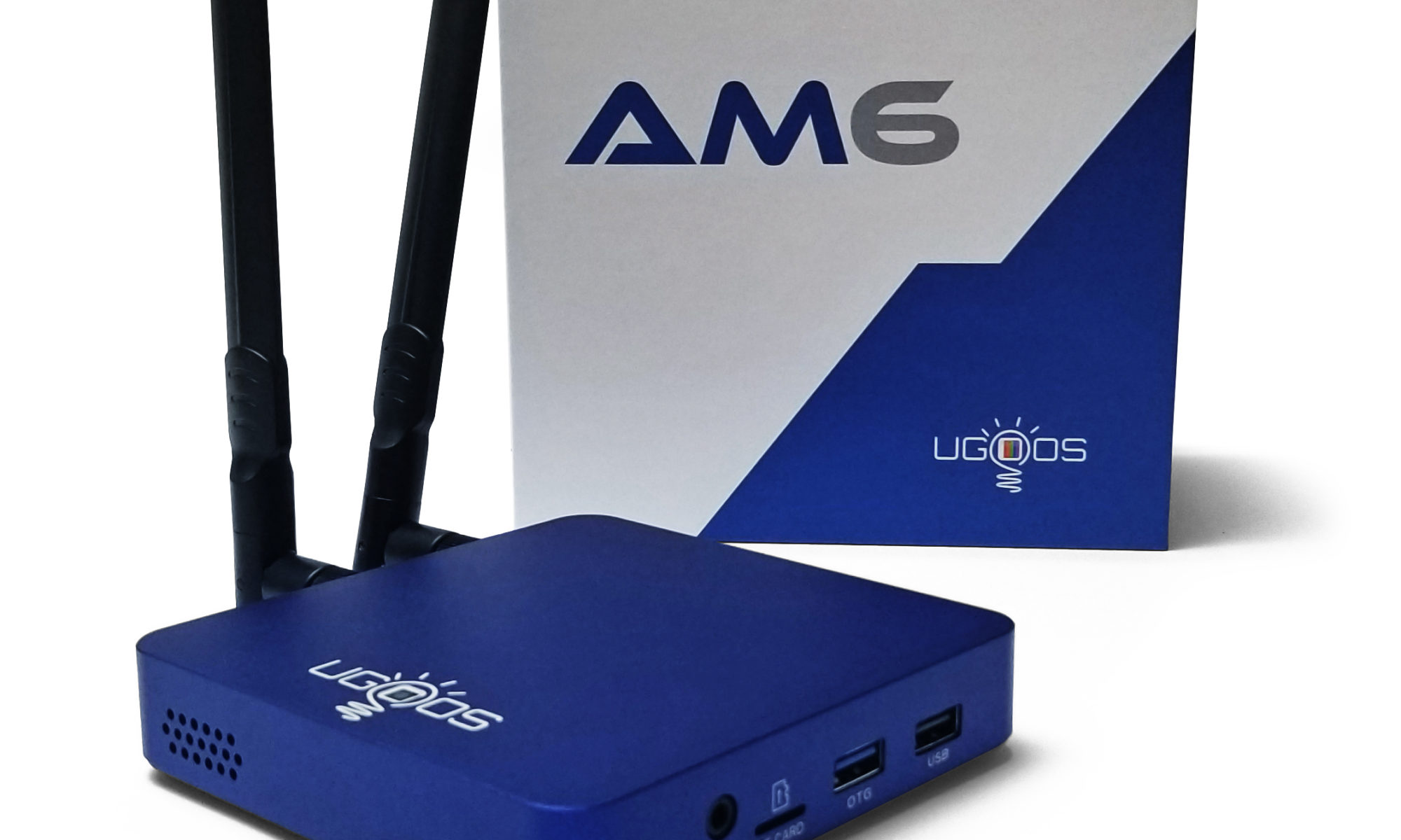 Ugoos AM6 Fan-Cooled S922X TV Box