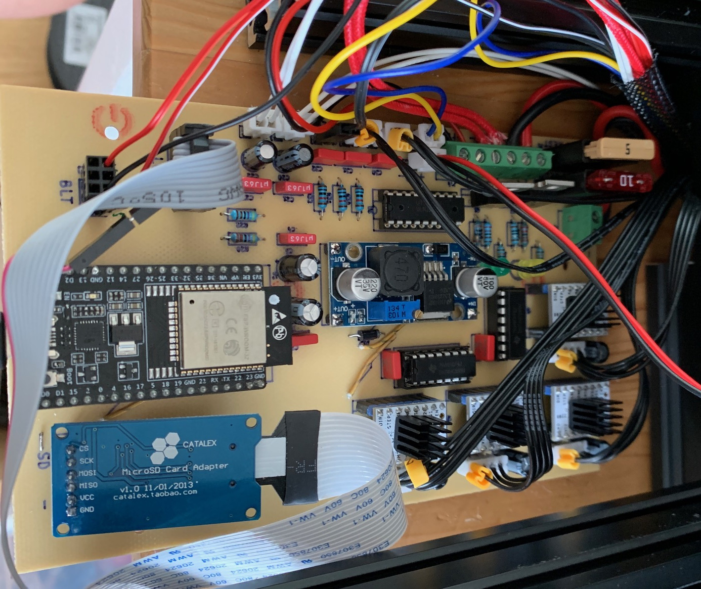 Open Source ESP32 3D Printer Board Supports Marlin 2 0 Firmware