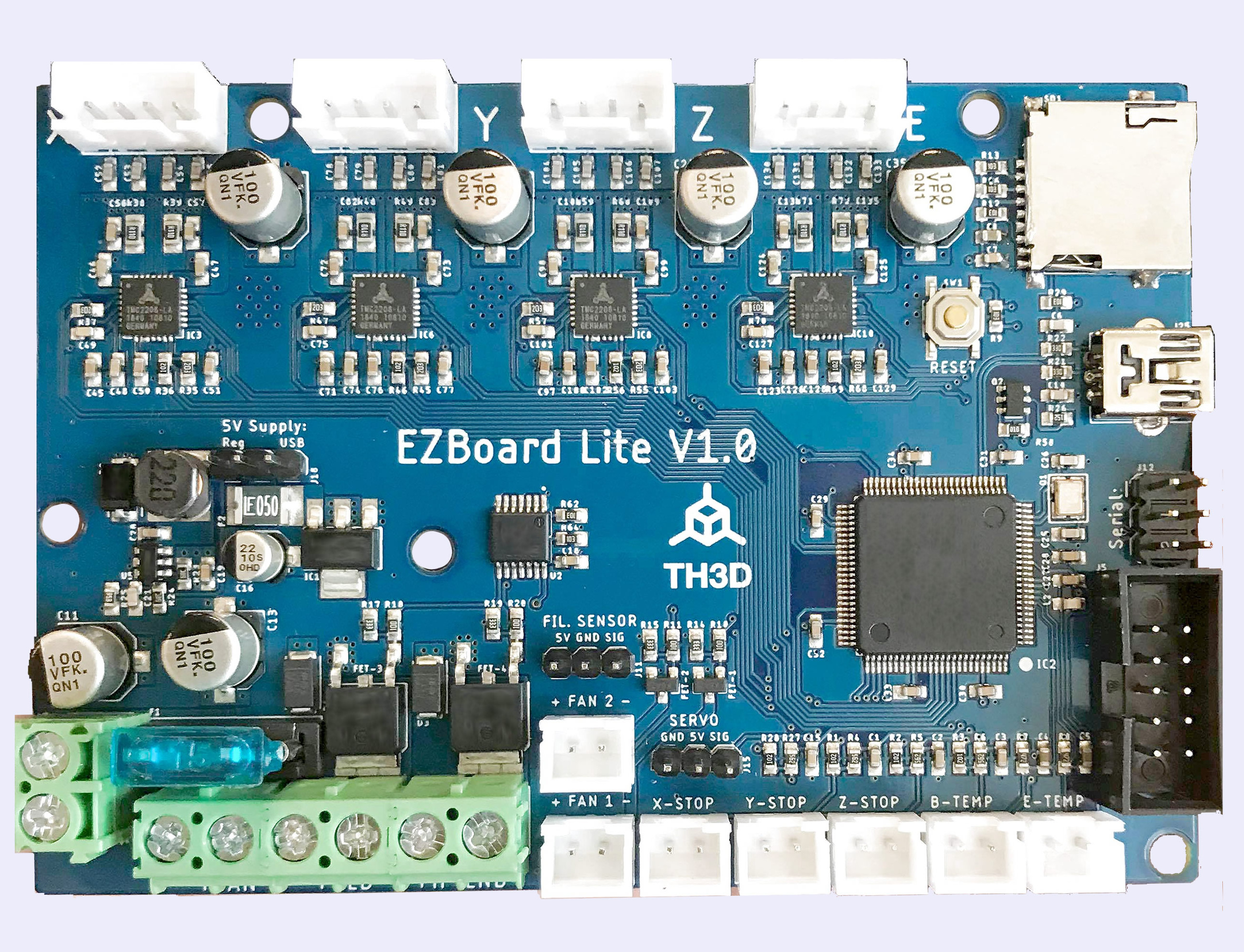 TH3D EZBoard Lite Board Upgrades Ender and Creality CR-10 3D Printers